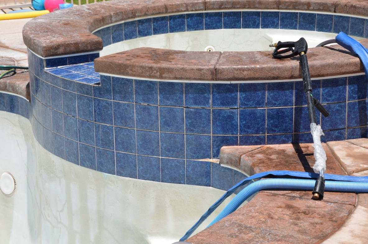 Pool tile cleaning diver 39 s pool service - Swimming pool tile cleaning machine ...